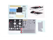 FMS 70MM A10 DECAL SHEET - FMSPV122