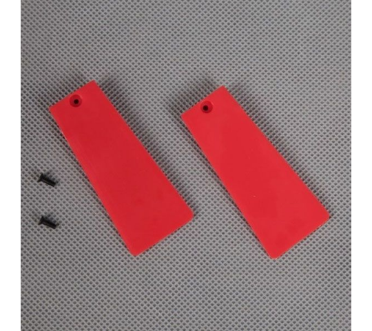 FMS AVANTI MAIN LANDING GEAR DOOR - FMSPX108RED