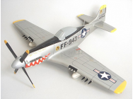 P-51 MUSTANG SILVER WAS THAT TOO FAST - BOI-P51-SILV