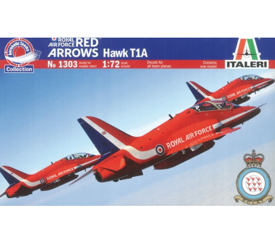 Hawk T.1A Red Arrows Italeri 1/72 - T2M-I1303