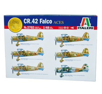 CR.42 Falco As Italiens Italeri 1/48 - T2M-I2702