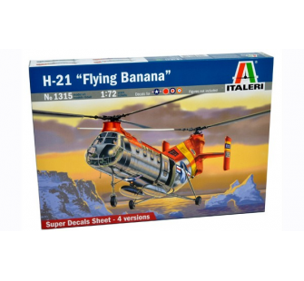 H-21 Flying Banana Italeri 1/72 - T2M-I1315