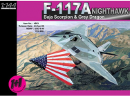F-117A Nighthawk Dragon 1/144 - T2M-D4583