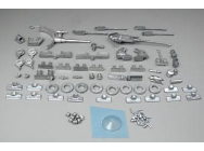 U.S.S. Crockett Deck Fittings (2105)  - DUM2105