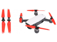 2 paires d helices rouges DJI Spark - 4730F-CS2-R