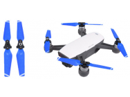 2 paires d helices bleues DJI Spark - 4730F-CS2-B
