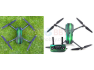 Stickers Green Wood drone + radio Mavic DJI - MV-TZ33-GR