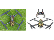Stickers Camo drone + radio Mavic DJI - MV-TZ33-CAMO
