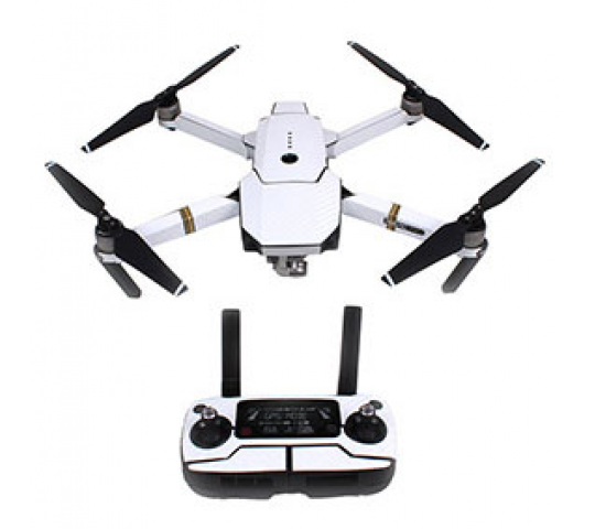 Stickers Waterproof Carbon White Mavic DJI - MV-TZ401-CARW