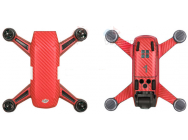 Stickers Spark DJI rouge carbone - SP-TZ404-R