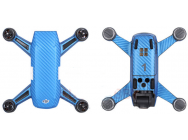 Stickers Spark DJI bleu carbone - SP-TZ404-B