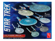 1:2500 Star Trek U.S.S. Enterprise Box Set - Snap - AMT954