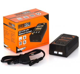 Chargeur - equilibreur LiPo 2-3S - 220V - KN-LIPO220