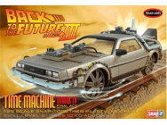 1:25 Back to the Future III Final Time Machine (Snap Kit) - POL932