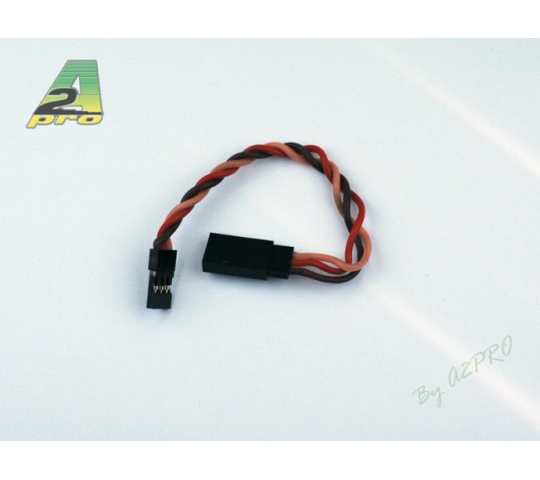 Rallonge 10cm JR - cable silicone 0,50mm² - 13555