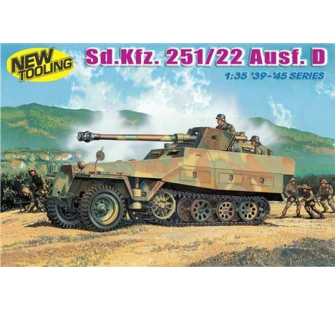Sd.Kfz.251/22 Ausf.D Dragon 1/35 - T2M-D6248