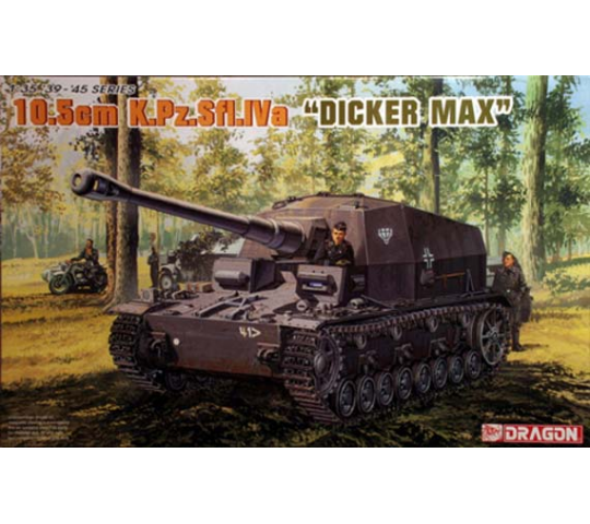 Dicker Max 10,5cm Dragon 1/35 - T2M-D6357