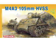 M4A3 105mm HVSS Dragon 1/72 - T2M-D7313