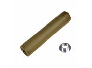 Silencieux Crusader TR45S Suppressor tan 14 et 16mm - VFC - PS02385