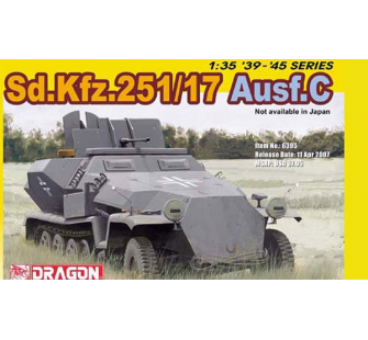 Sd.Kfz.251/17 Ausf.C Dragon 1/35 - T2M-D6395