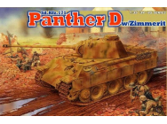 Panther D avec Zimmerit Dragon 1/35 - T2M-D6428