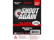 Billes 0.36g Pro Sniper - sachet de 500 billes - Shoot Again - BB5336