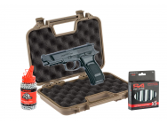 Pack Airgun Bersa Thunder 9 pro 1,9J + mallette + billes 4,5 + Co2 - ASG - PCKACP640
