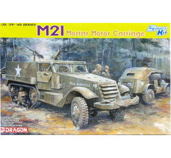 M21 Mortar Motor Carriage Dragon 1/35 - T2M-D6362