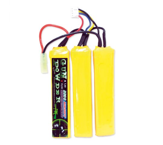 Batterie LiPo 11,1v 2200mah 3 sticks - A63316