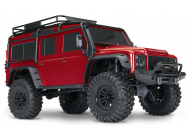 TRX-4 SCALE & TRAIL CRAWLER RTR ROUGE TRAXXAS - TRX82056-4-RED