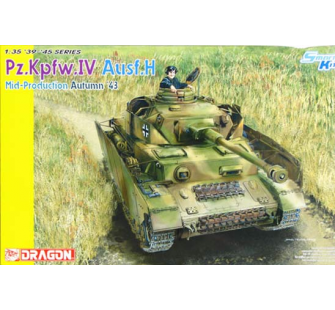 Panzer IV Ausf.H Sept/Nov 1943 Dragon 1/35 - T2M-D6526