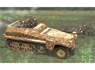 Sd.Kfz.250/7 Alt. Mortier 8cm Dragon 1/35 - T2M-D6858