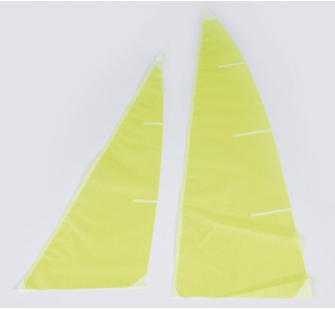 Voile competition ICAREX jaune Micro-Magic Graupner - 2114.5G