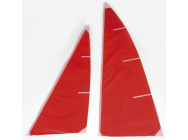 Voile competition ICAREX rouge Micro-Magic Graupner - 2114.5R