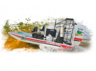 Aquacraft - Alligator Tours Airboat TTX300 2.4GHz RTR - AQUB1803