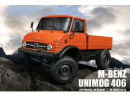 Unimog 406 CMX 1/10 Crawler 4WD ORANGE RTR MST - MST531502