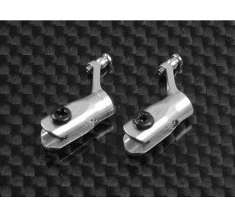 Pied de Pale Metal w/ angular-contacted bearing -Silver (MCPX) - XTR-MCPX001-S