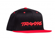 Casquette Visiere Plate Bill Rouge - TRX1183-RED