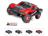 Slash - 4X4 - 1/10 Brushless - Tsm - Wireless - Id- Sans Accus/Charge - TRX68086-4