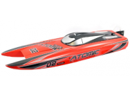 Racent Atomic Brushless 700mm rouge RTS - V792-4R