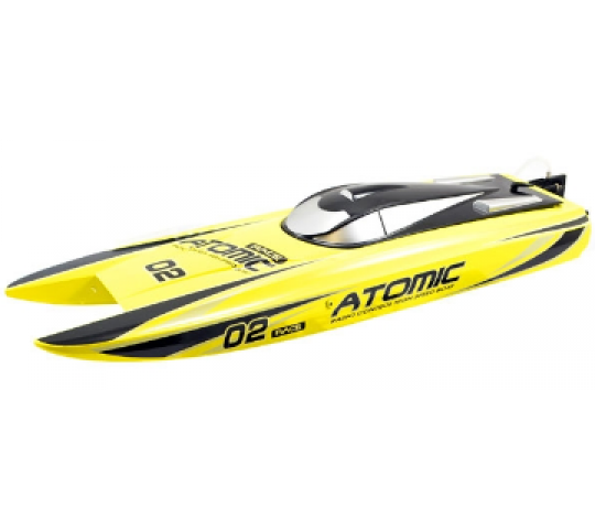 Racent Atomic Brushless 700mm jaune RTS - V792-4Y