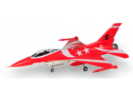 F16 Red Black Nights 1245mm PNP Swiwin Turbine HSDJETS - F16HSDR