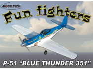 P-51D Fun Fighter Blue Thunder - OST-64323
