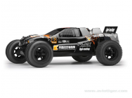 Carrosserie Truck Noir Orange - HPI-114182