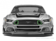 Carrosserie Ford Mustang Trans 200Mm - HPI-116534
