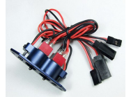 Dual Heavy Duty Switch for gasoline airplane Bleu - MIR-J-001-Bl