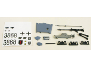 Stug III Decals/Driver/Fittings (Grey) - 4401112