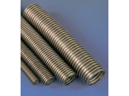 16mm I/D x 25cm Exhaust Stainless Steel Tube - 5508466