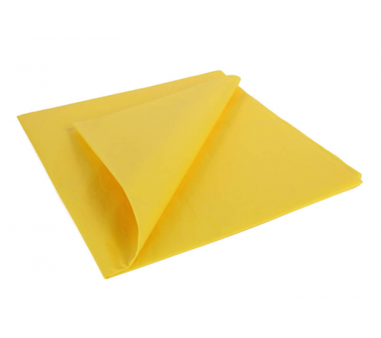 Trainer Yellow Lightweight Tissue Covering Paper, 50x76cm, (5 Sheets) - 5525203