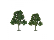 92107 Scenic Deciduous, 2  to 2.5 , N-Scale, (9 per pack) - JTT92107